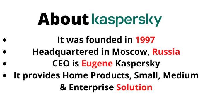 About Kaspersky
