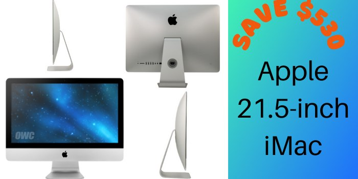 Apple 21.5-inch iMac
