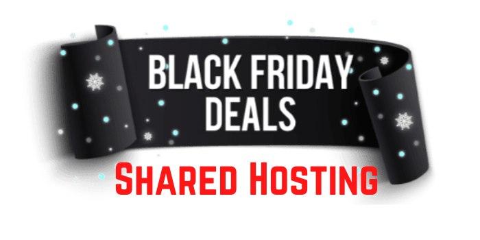 Black Friday Shared Hosting Deals