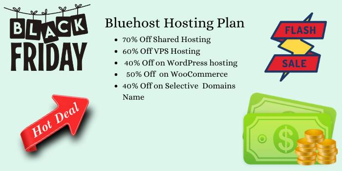 Bluehost Hosting Black Friday