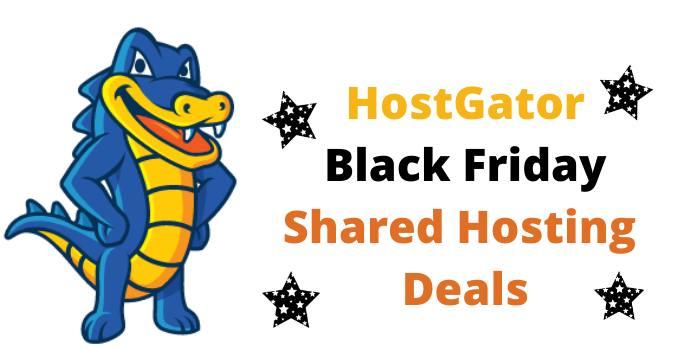 HostGator Black Friday Shared Hosting Deals