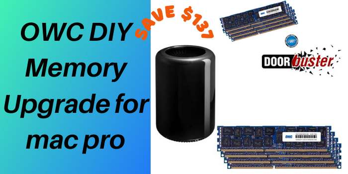 OWC DIY Memory Upgrade for mac pro
