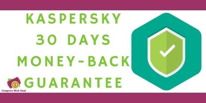 Kaspersky 30 Days Money-back Guarantee