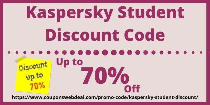 Kaspersky Student Discount Code