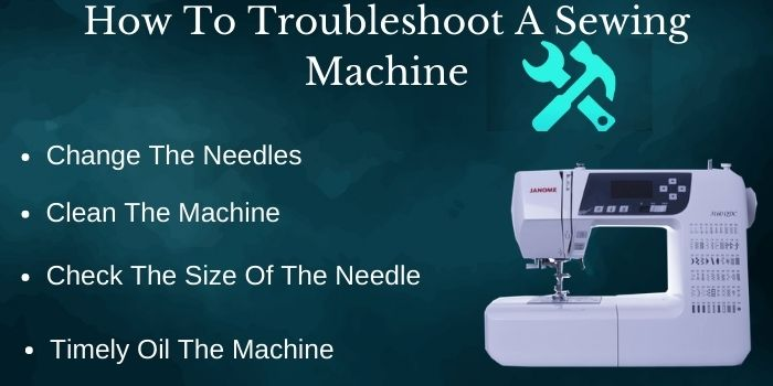 How To Troubleshoot A Sewing Machine