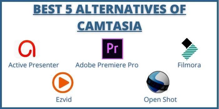 Alternatives of Camtasia