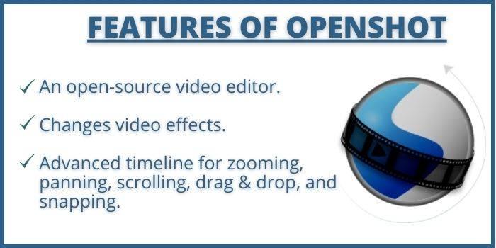 Features of Openshot